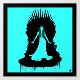 Mother of King Art Print