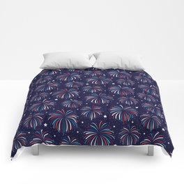 Star Spangled Night Comforters