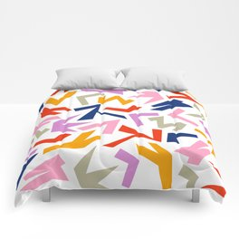 Geometric Patterns II Comforters