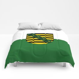 flag of Sachsen (historic state) Comforters