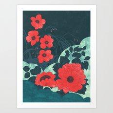 Ruby Art Print