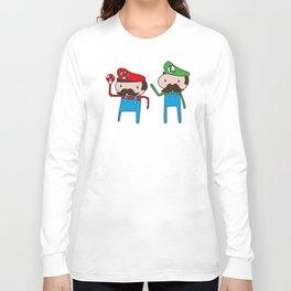 Mario Bros. Long Sleeve T-shirt