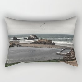 Sutro Baths Ruins Rectangular Pillow