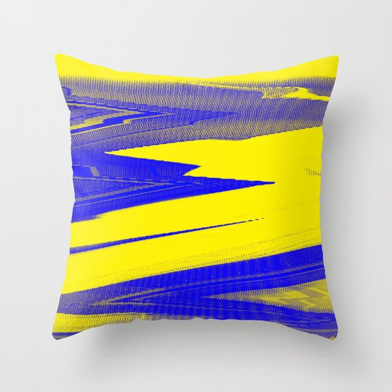 Digital Died/Sour Throw Pillow