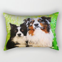 Two friends. Rectangular Pillow