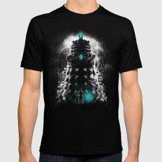 Shadow Of The Dalek Mens Fitted Tee Black MEDIUM