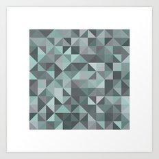 #105 Diamond dust – Geometry Daily Art Print