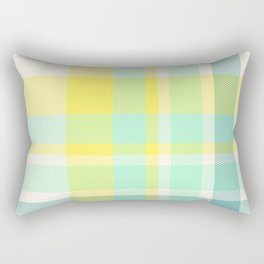 Summer Plaid 11 Rectangular Pillow