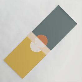 Abstract 02 Yoga Mat