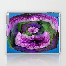 Purple Petunia Laptop & iPad Skin
