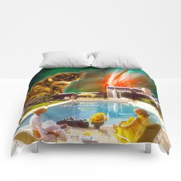Cuddle Unit 5 with Midcentury Nebula Comforters