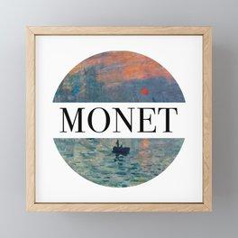 Monet Framed Mini Art Print