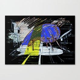 Archifantasy #4 Canvas Print