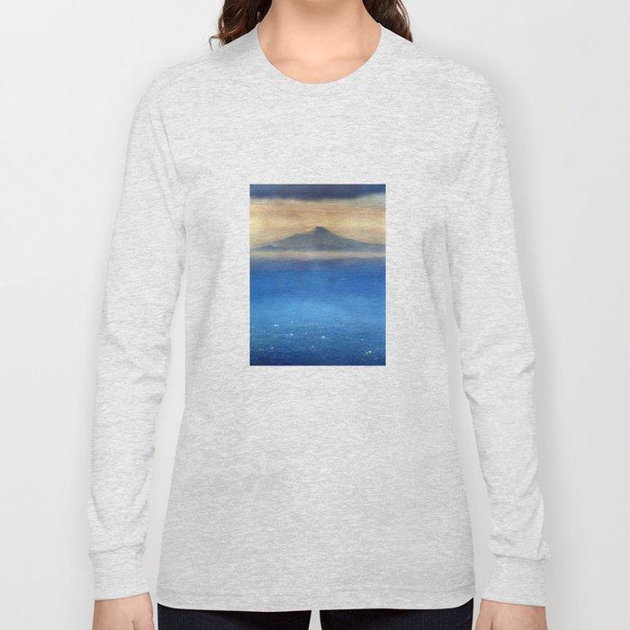 Fuji-san (富士山) original version Long Sleeve T-shirt