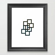 #536 Facades – Geometry Daily Framed Art Print