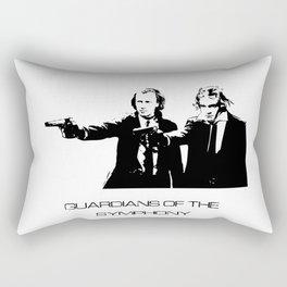 Brahms & Beethoven Guardians of the Symphony Rectangular Pillow