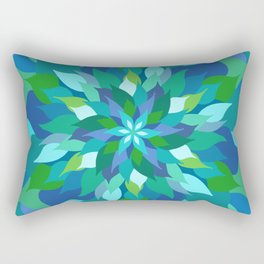 Healing Leaves Rectangular Pillow