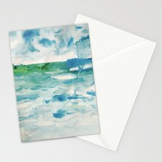 Miami Beach Watercolor #2 Stationery Cards