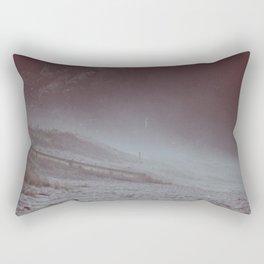 wind blown Rectangular Pillow