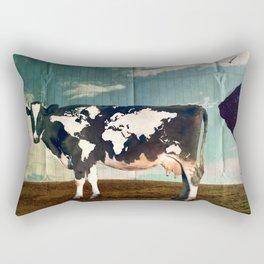 Surreal Bovine Atlas  Rectangular Pillow