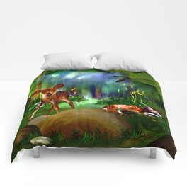 Forest Fawns Comforters