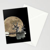 Moon Dance Stationery Cards