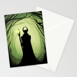 Maleficent woods Stationery Cards