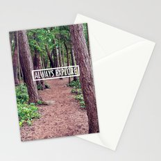 Always Explore Stationery Cards
