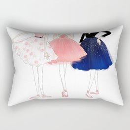 Ballerinas Rectangular Pillow