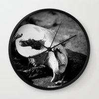 beaver Wall Clocks featuring Beaver Remains by Ariana Buck