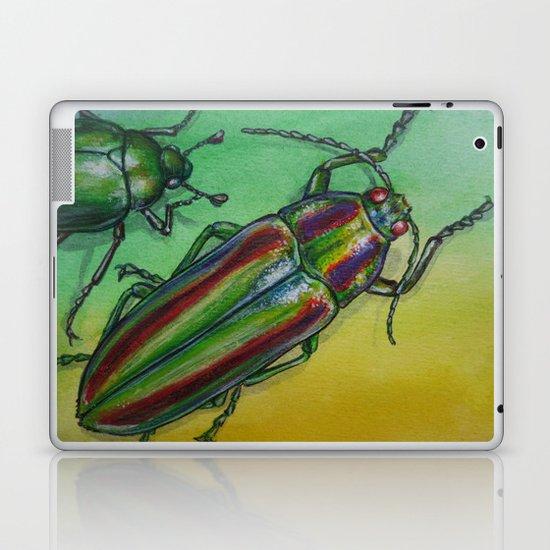 Shinny Beetle Laptop & iPad Skin