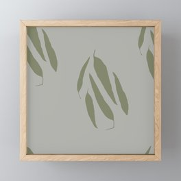 Gum Leaves Framed Mini Art Print