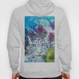 Queen Snow Leopard Hoody