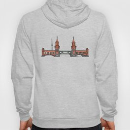 Oberbaum Bridge in Berlin Hoody