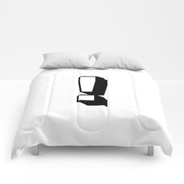 Exclamation Point ! ... Exclamation Mark ! Comforters