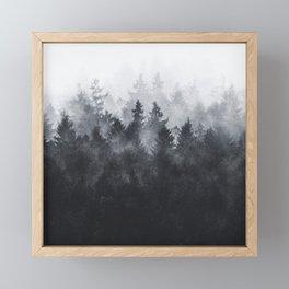 The Heart Of My Heart // Midwinter Edit Framed Mini Art Print