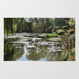 Monet's Waterlilies Rug