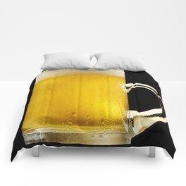 Foamy Beer Mug Comforters