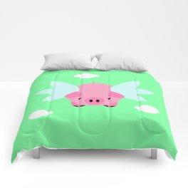 Flying Pig Comforters