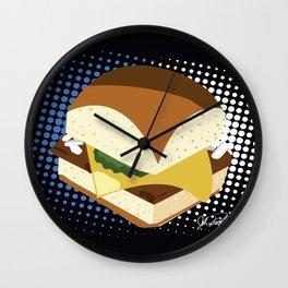 Bite Size Wall Clock