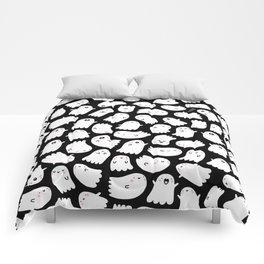 Spooky Kawaii Ghosts Comforters