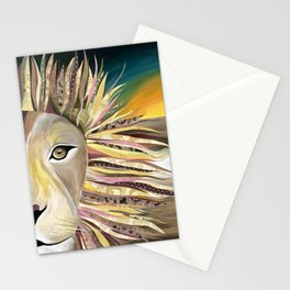 Lions of Africa Friends of the Earth Stationery Cards
