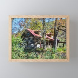 Mountain House Framed Mini Art Print
