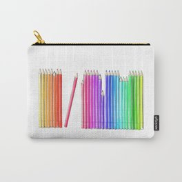 Coloured Pencils Carry-All Pouch