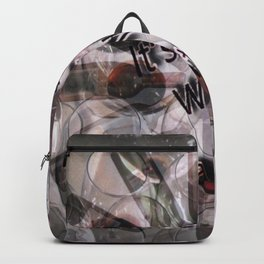 It's Ok to Wine a Little Graphic photography Backpack