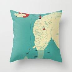 Fishin' Buddy Throw Pillow