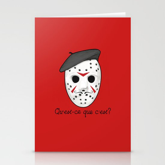 Psycho Killer Stationery Cards