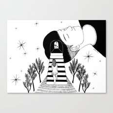 Into Your Dream Canvas Print