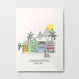 Charleston, S.C. Metal Print