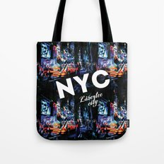 NEW-YORK (LIBERTEE CITY) Tote Bag